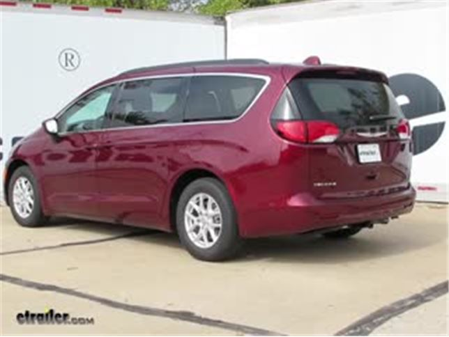 install trailer hitch 2017 chrysler pacifica c12159_644 trailer hitch installation 2017 chrylser pacifica video  at n-0.co