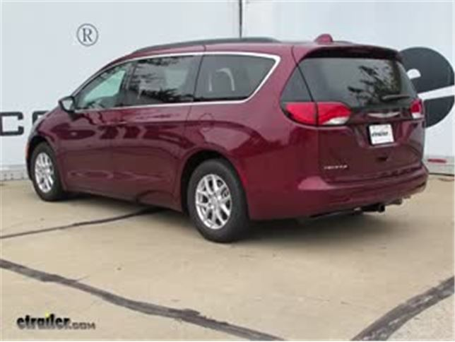 install trailer hitch 2017 chrysler pacifica c13286_644 trailer hitch installation 2017 chrysler pacifica video  at n-0.co