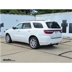 Trailer Hitch Installation - 2017 Dodge Durango - Draw-Tite