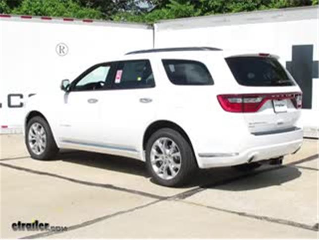 install trailer hitch 2017 dodge durango c13182_644 trailer hitch and wiring for a 2017 dodge durango etrailer com Dodge Ram Trailer Wiring Diagram at soozxer.org