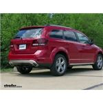 Trailer Hitch Installation - 2017 Dodge Journey - Curt