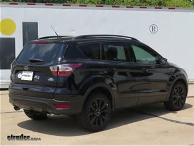 Etrailer Trailer Hitch Installation 2017 Ford Escape Video