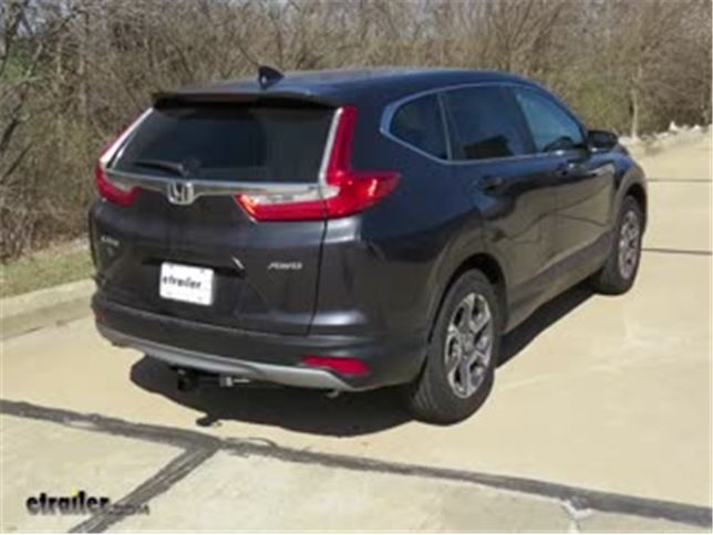 Trailer Hitch Recommendation For 2018 Honda CR V