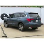 Trailer Hitch Installation - 2017 Honda Pilot - Draw-Tite
