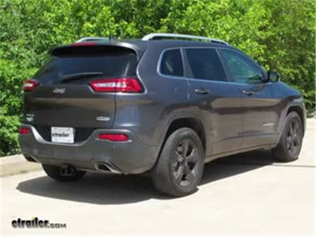 install trailer hitch 2017 jeep cherokee c13172_644 trailer hitch installation 2017 jeep cherokee curt video  at readyjetset.co