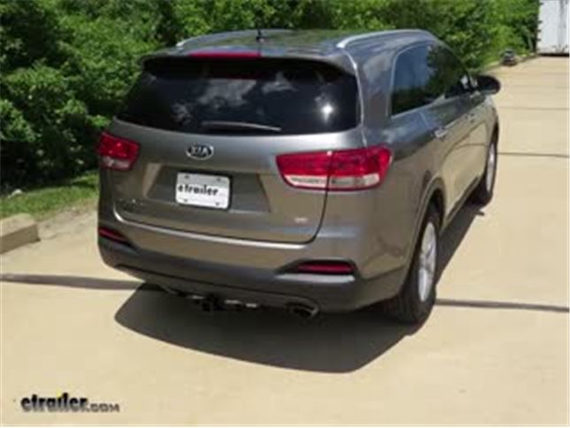 Draw Tite Trailer Hitch Installation   2017 Kia Sorento Video | Etrailer.com