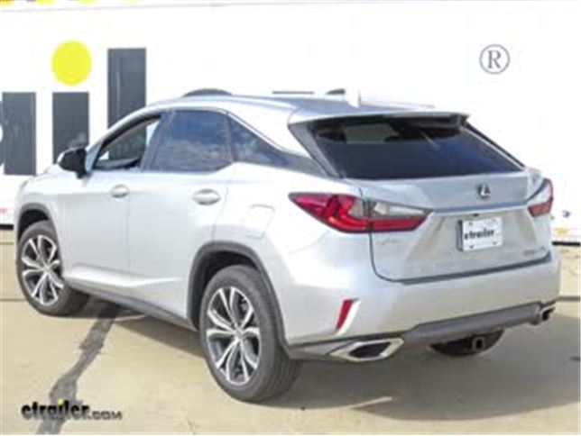 install trailer hitch 2017 lexus rx 350 c13272_644 trailer hitch installation 2017 lexus rx 350 video etrailer com lexus rx 350 trailer wiring harness at gsmportal.co