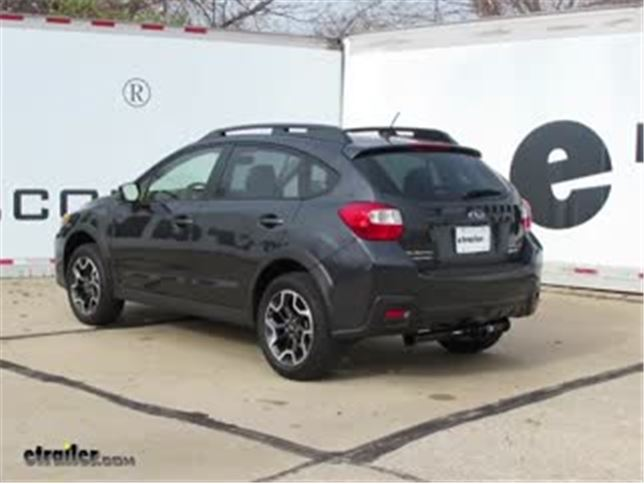 2016 Subaru Crosstrek Trailer Hitch