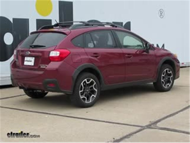install trailer hitch 2017 subaru crosstrek c11286_644 trailer hitch installation 2017 subaru crosstrek video  at bayanpartner.co