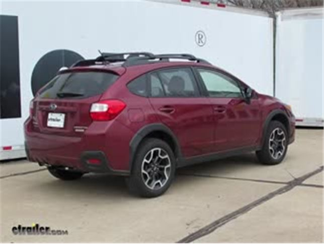 install trailer hitch 2017 subaru crosstrek dt24959_644 trailer hitch installation 2017 subaru crosstrek video  at bayanpartner.co