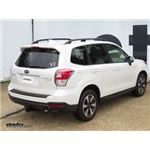 Trailer Hitch Installation - 2017 Subaru Forester - Curt