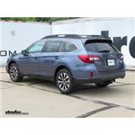 Trailer Hitch Installation - 2017 Subaru Outback Wagon - Draw-Tite