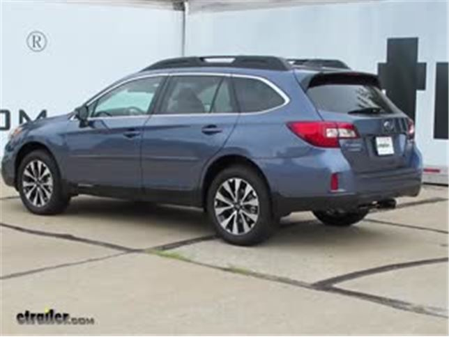 2017 Subaru Outback Wagon Trailer Hitch