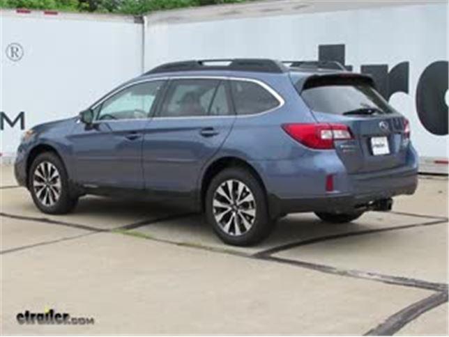 2017 Subaru Outback-wagon Trailer Hitch