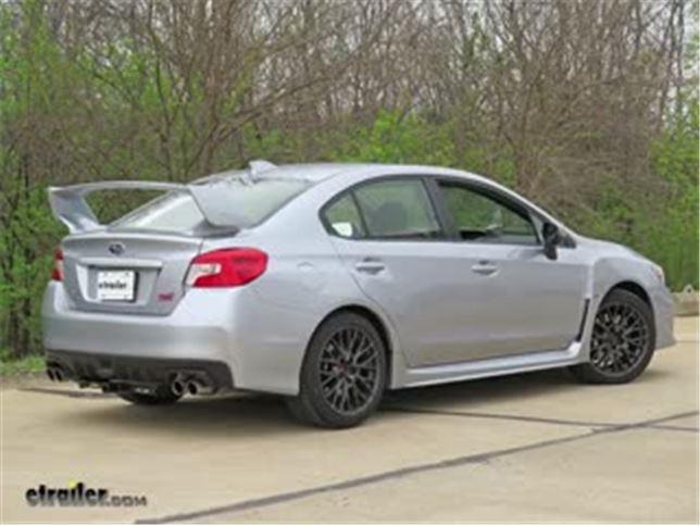 Trailer Hitch Installation 2017 Subaru WRX Video etrailercom