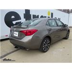 Trailer Hitch Installation - 2017 Toyota Corolla - Curt