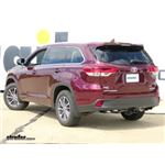 Draw-Tite Max-Frame Trailer Hitch Installation - 2017 Toyota Highlander