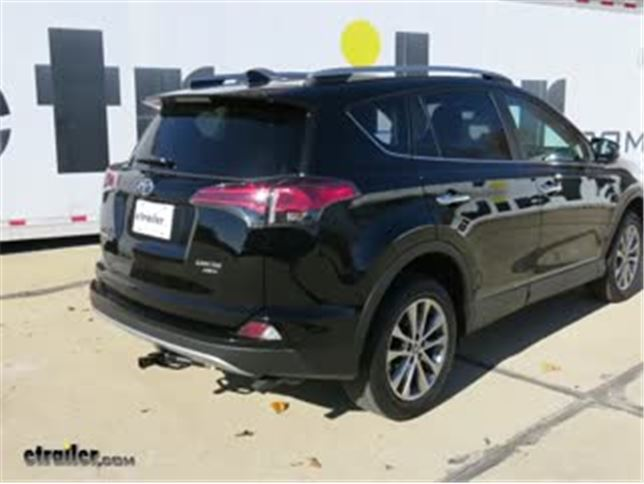 Trailer Hitch Installation 2017 Toyota RAV4 DrawTite Video - Install Trailer Hitch Rav4