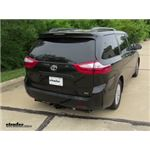Trailer Hitch Installation - 2017 Toyota Sienna - Draw-Tite