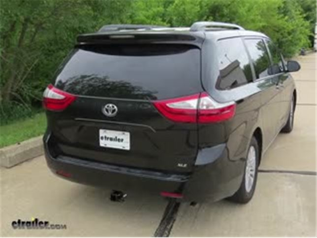 Trailer Hitch Installation 2017 Toyota Sienna Draw E Video Etrailer
