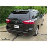 Trailer Hitch Installation - 2017 Toyota Sienna - Curt