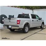 Draw-Tite Max-Frame Trailer Hitch Installation - 2018 Ford F-150