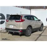Draw-Tite Max-Frame Trailer Hitch Installation - 2018 Honda CR-V