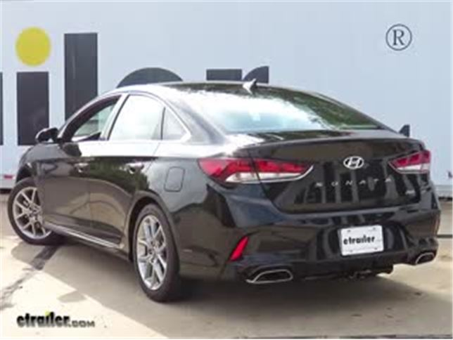 Curt Trailer Hitch Installation 2018 Hyundai Sonata Video Etrailer