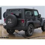 Trailer Hitch Installation - 2018 Jeep JK Wrangler