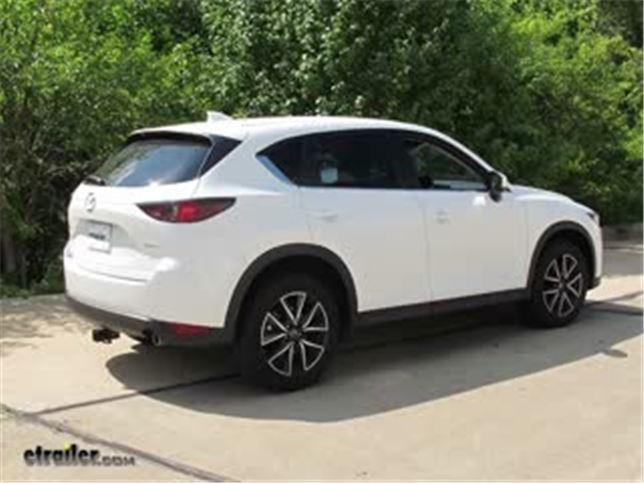 [DIAGRAM_1JK]  Trailer Hitch Installation - 2018 Mazda CX-5 - Curt Video | etrailer.com | Mazda Cx 5 Trailer Wiring Diagram |  | etrailer.com