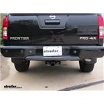Trailer Hitch Installation - 2018 Nissan Frontier - Draw-Tite