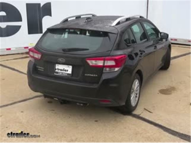 Subaru Impreza Trailer Hitch etrailercom