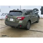 Trailer Hitch Installation - 2018 Subaru Outback Wagon