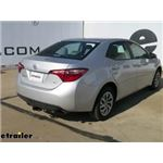 Trailer Hitch Installation - 2018 Toyota Corolla - Curt