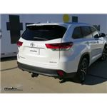 Draw-Tite Max-Frame Trailer Hitch Installation - 2018 Toyota Highlander