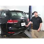 Draw-Tite Trailer Hitch Installation - 2018 Volkswagen Golf Sportwagen