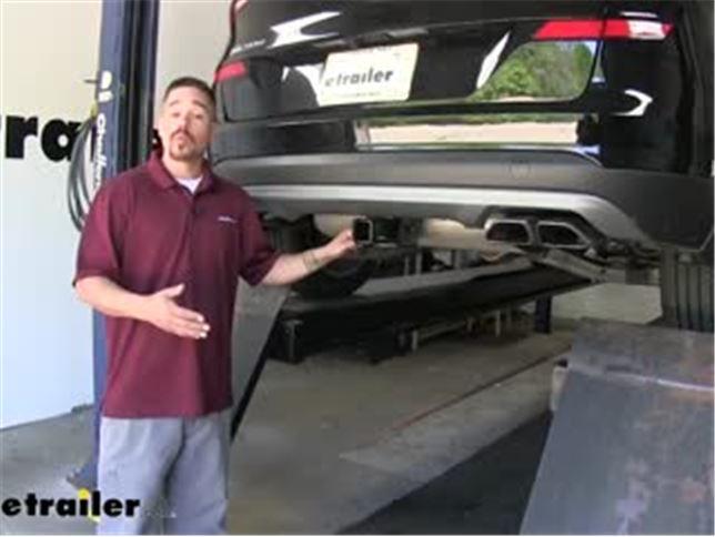 Curt Trailer Hitch Installation 2019 Hyundai Tucson Video Etrailer Com