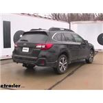 Video install trailer hitch 2019 subaru outback wagon 76227