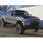 Curt Trailer Hitch Electric Winch Mount Plate Installation - 2003 Ford F-250