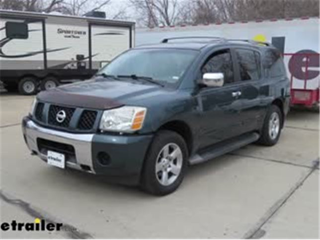 2004 Nissan Pathfinder Armada >> Curt T Connector Vehicle Wiring Harness For Factory Tow Package 7 Way And 4 Pole Flat Connectors