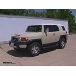 Trailer Wiring Harness Installation - 2008 Toyota FJ Cruiser