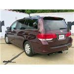 Trailer Wiring Harness Installation - 2010 Honda Odyssey