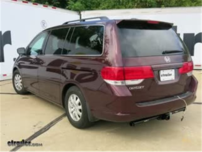 install trailer wiring 2010 honda odyssey c56161_644 trailer wiring harness installation 2010 honda odyssey video  at bayanpartner.co
