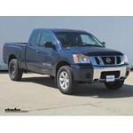 Trailer Wiring Harness Installation - 2010 Nissan Titan