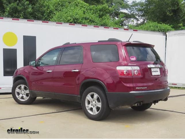 trailer wiring harness installation 2011 gmc acadia video rh etrailer com 2012 gmc acadia trailer wiring diagram 2012 gmc acadia trailer wiring diagram