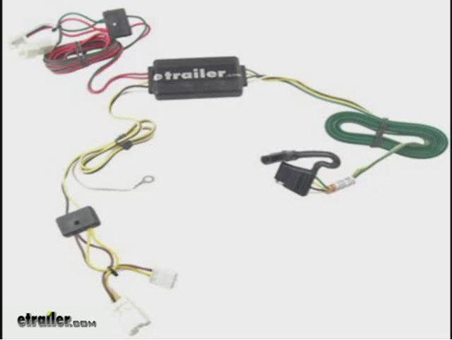 install trailer wiring 2011 hyundai santa fe 118415_644 trailer wiring harness installation 2011 hyundai santa fe video 2004 hyundai santa fe speaker wiring harness at bakdesigns.co