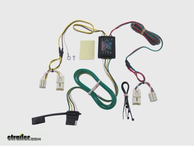 trailer wiring harness installation 2013 hyundai elantra video rh etrailer com