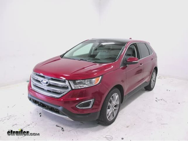 trailer wiring harness installation 2015 ford edge video trailer wiring harness installation 2015 ford edge video etrailer com