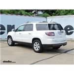 Trailer Wiring Harness Installation - 2015 GMC Acadia