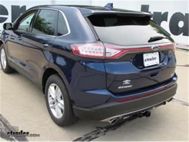 install trailer wiring 2016 ford edge 118669_644 trailer wiring harness installation 2016 ford edge video 2014 ford edge trailer wiring harness at gsmx.co